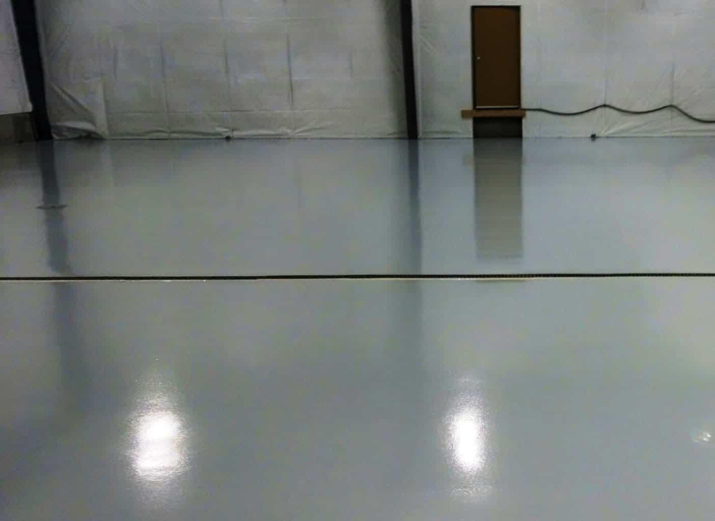 epoxy 100 solide b ton surface plancher garage. Black Bedroom Furniture Sets. Home Design Ideas