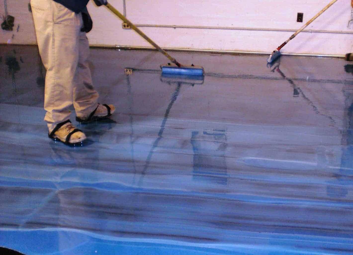 Plancher m tallique b ton surface plancher garage for Prix d un bip de garage