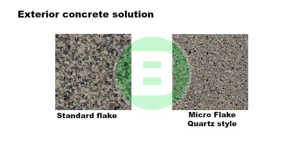 exterior concrete solution