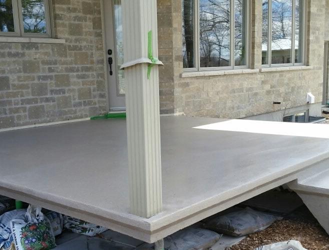 Rev tement de b ton ext rieur b ton surface plancher for Finition beton exterieur