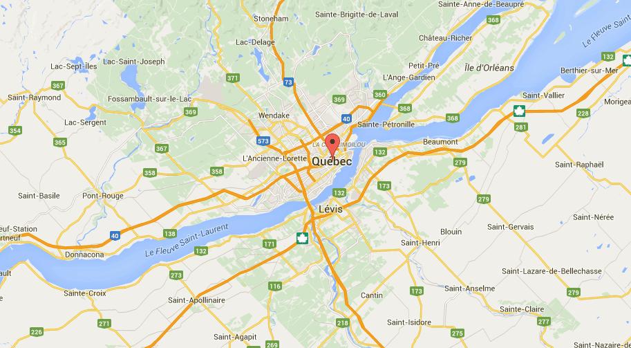 Plancher de garage à Québec