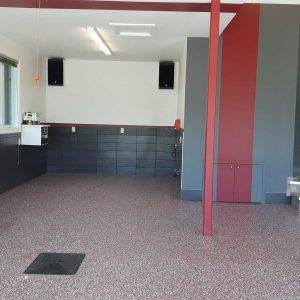 Revêtement de plancher de garage