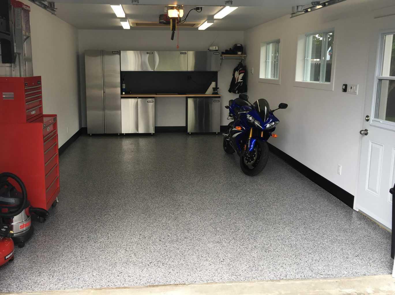 Expert en rev tement de sols b ton surface qu bec - Revetement de plancher de garage en pvc ...