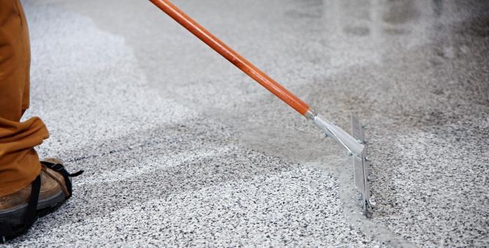 Plancher de garage montr al b ton surface for Recouvrement de plancher exterieur
