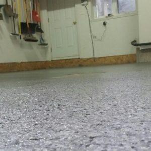 plancher de garage à Lévis