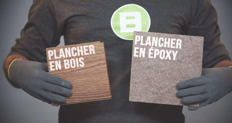 Changer Le Plancher D Une Maison plancher en époxy vs. plancher en bois - béton surface