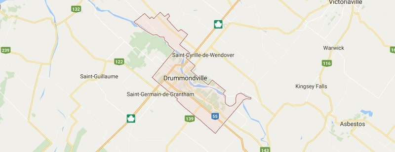 plancher de garage à Drummondville