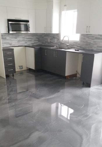 plancher de cuisine saint jean sur richelieu b ton surface mont r gie. Black Bedroom Furniture Sets. Home Design Ideas