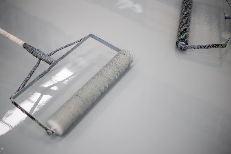 Plancher de garage époxy