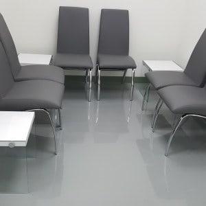 Époxy Standard gris salle attente