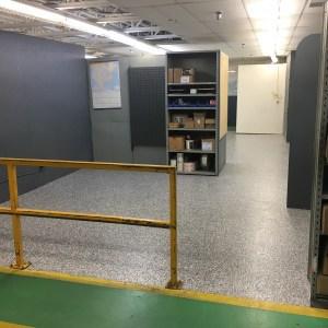 Commercial flocons gravel