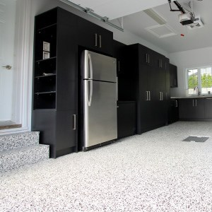 polyurea plancher garage domino