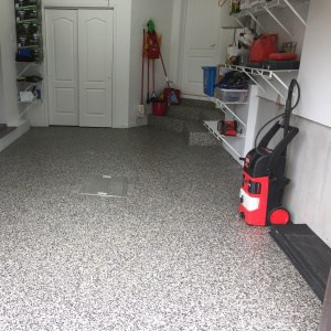 revetement plancher garage gunflint