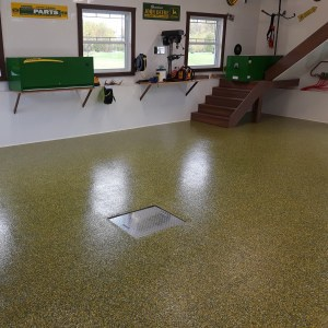 revetement plancher garage johndeere