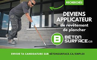 Recherche un applicateur chez Béton Surface