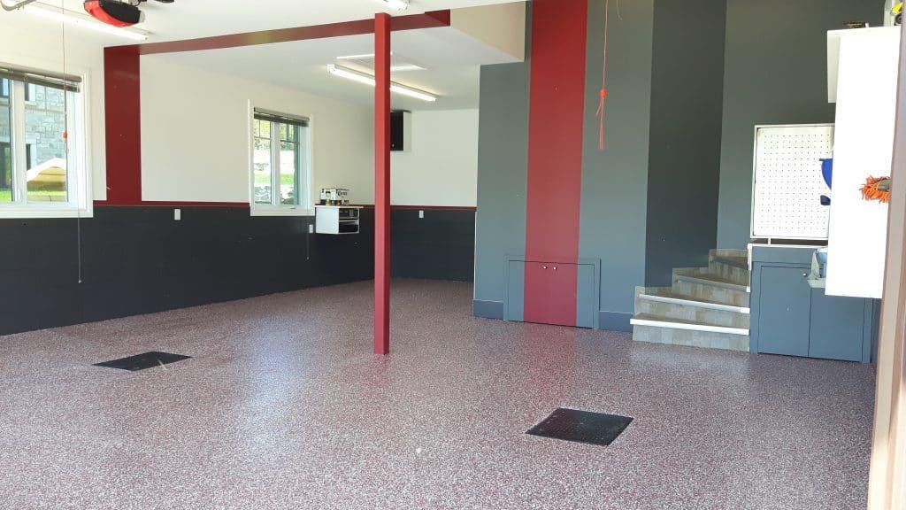 plancher garage laval