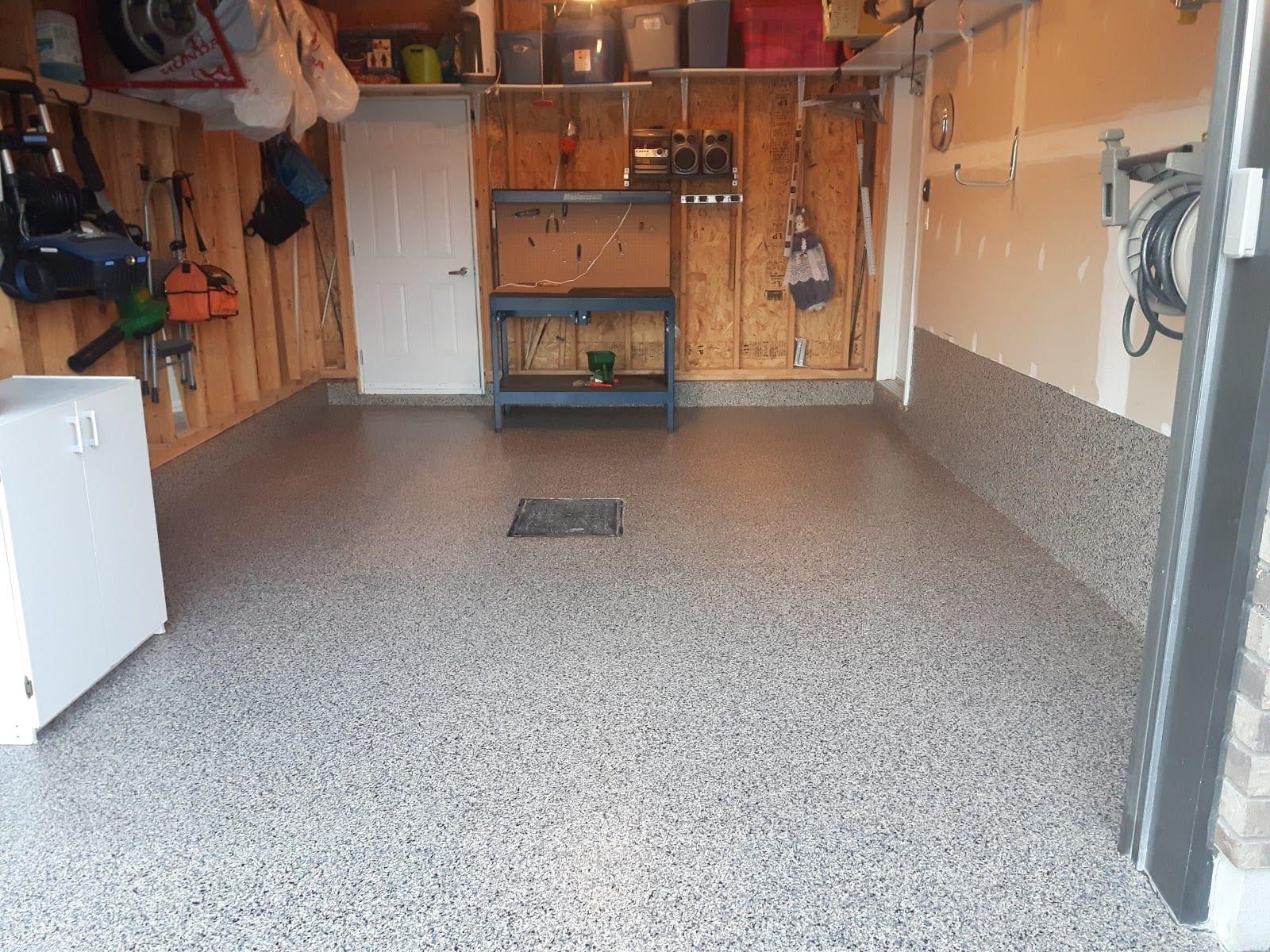 Quel Revetement De Sol quel est le meilleur revêtement de sol pour un garage