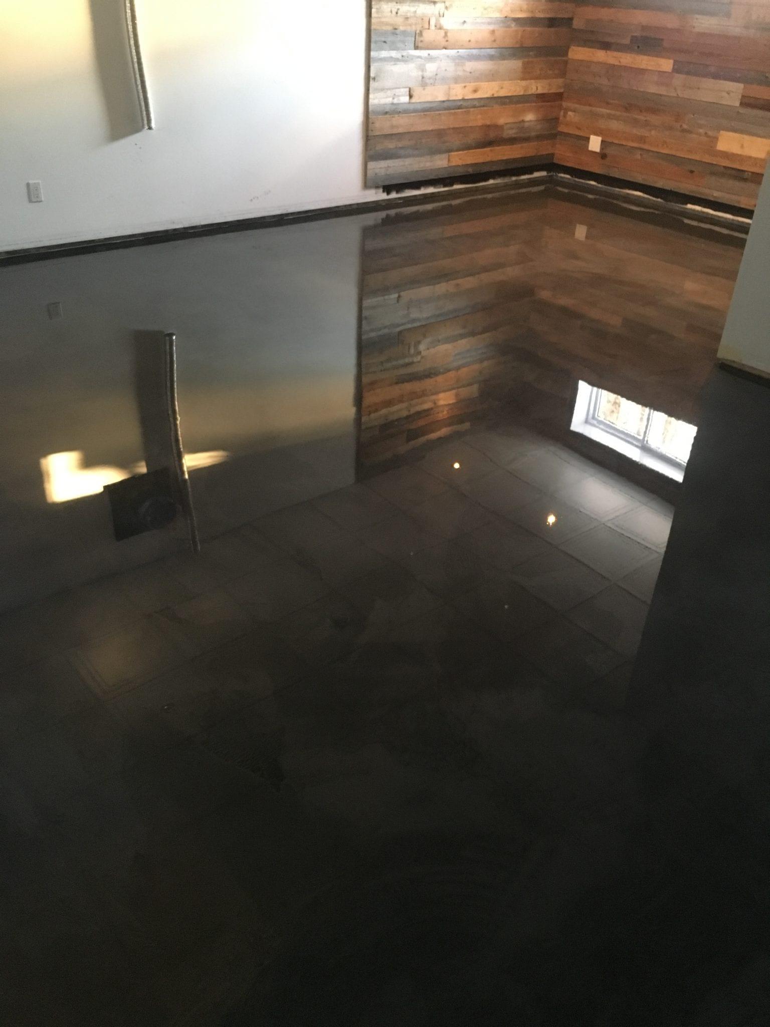 plancher epoxy